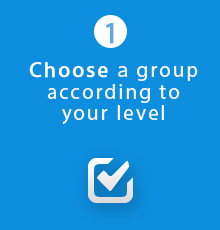 Russian lessons groups - Webinar - choose your level