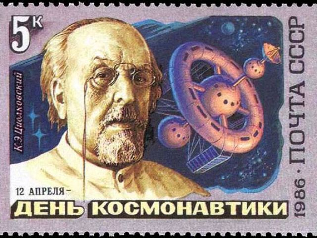 Tsiolkovsky and his elevator to heaven