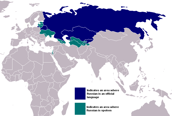Russian Speakers In The World
